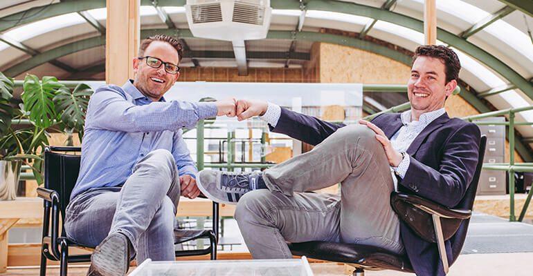 Nieuwe fase René en Maarten